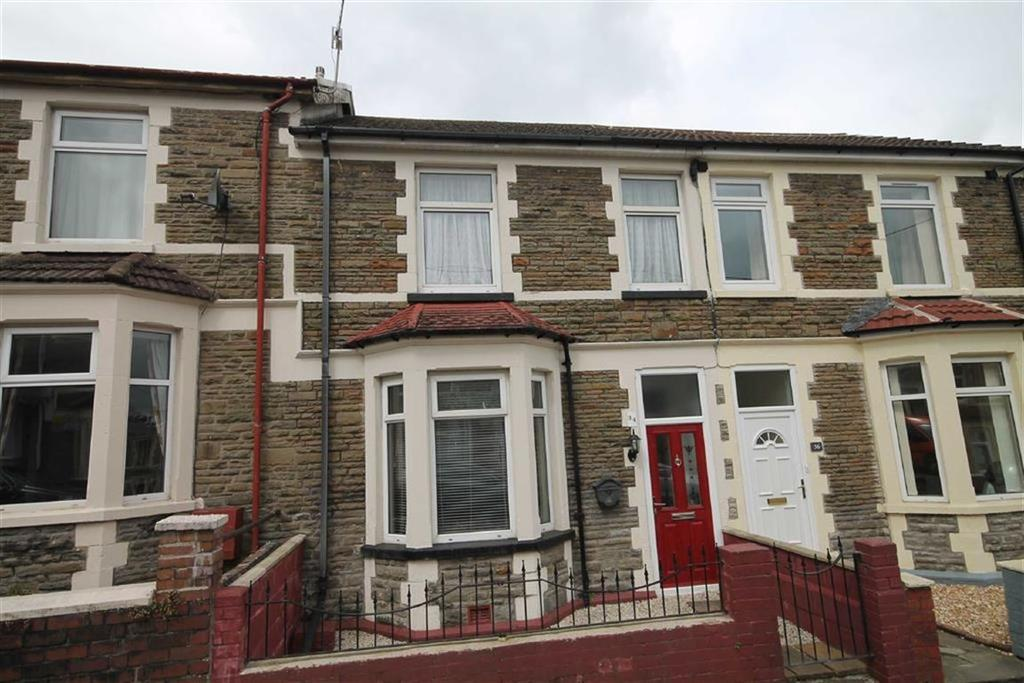 4 Bedrooms Terraced House for sale in Ludlow St, Caerphilly, CF83