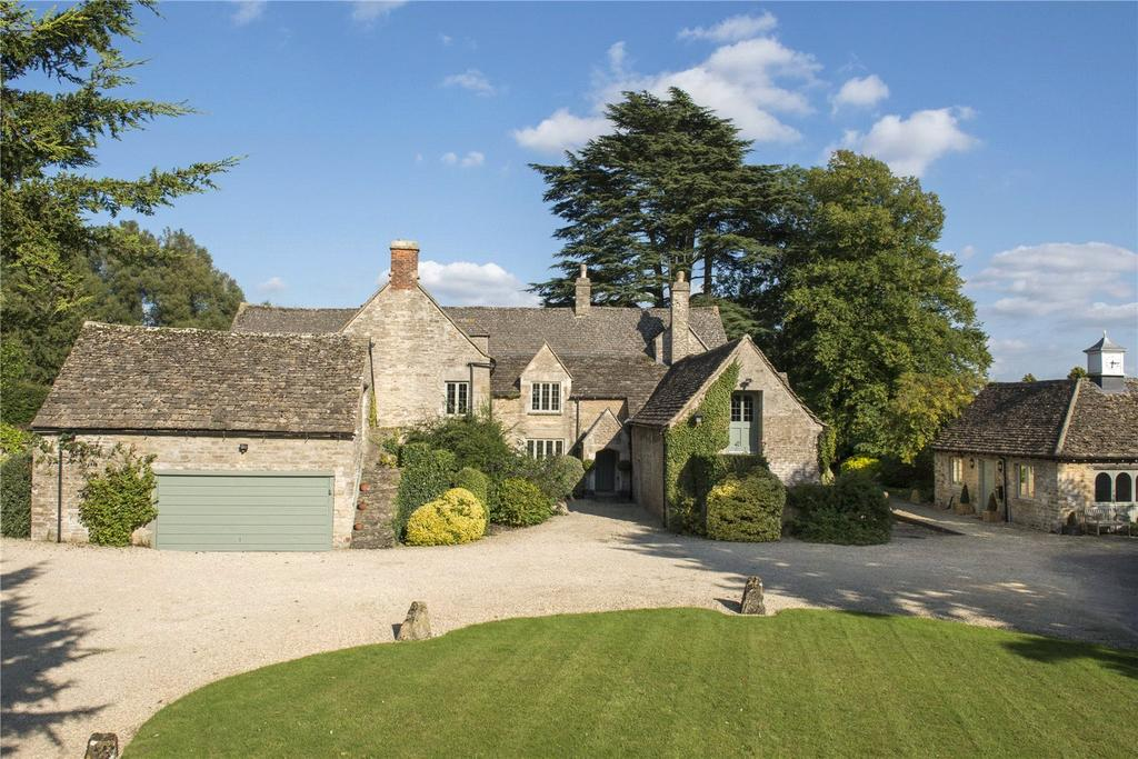 5 Bedrooms Detached House for sale in Siddington, Cirencester, Gloucestershire, GL7