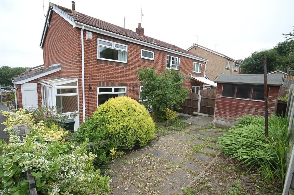 1 Bedroom End Of Terrace House for sale in Oak Park Rise, Barnsley, South Yorkshire, S70