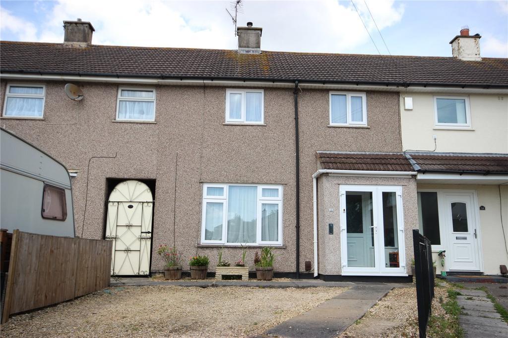 2 Bedrooms Terraced House for sale in Wolfridge Gardens, Henbury, Bristol, BS10
