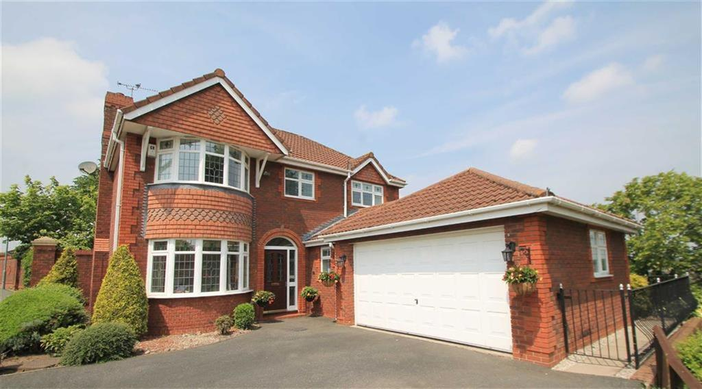4 Bedrooms Detached House for sale in Kensington Grove, Acton, Wrexham