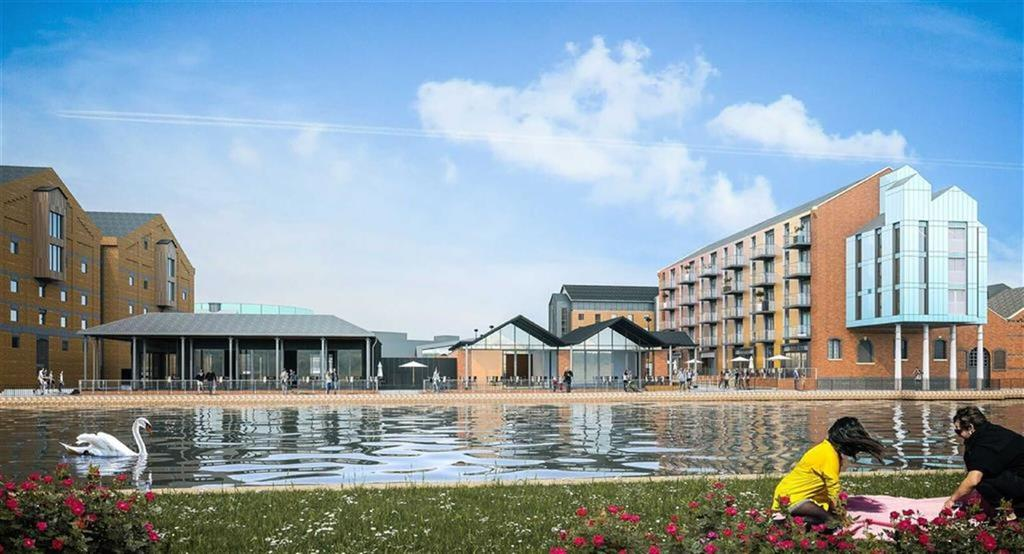 1 Bedroom Apartment Flat for sale in Provender, Gloucester Docks