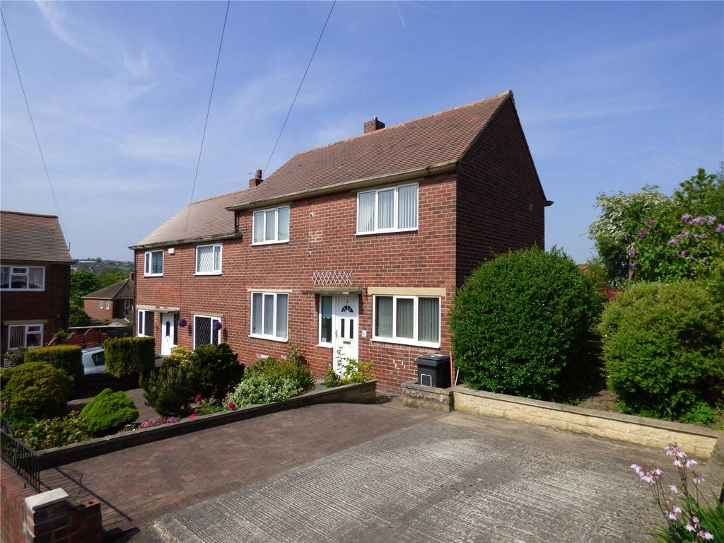 2 Bedrooms Semi Detached House for sale in Garden Walk, Liversedge, WF15