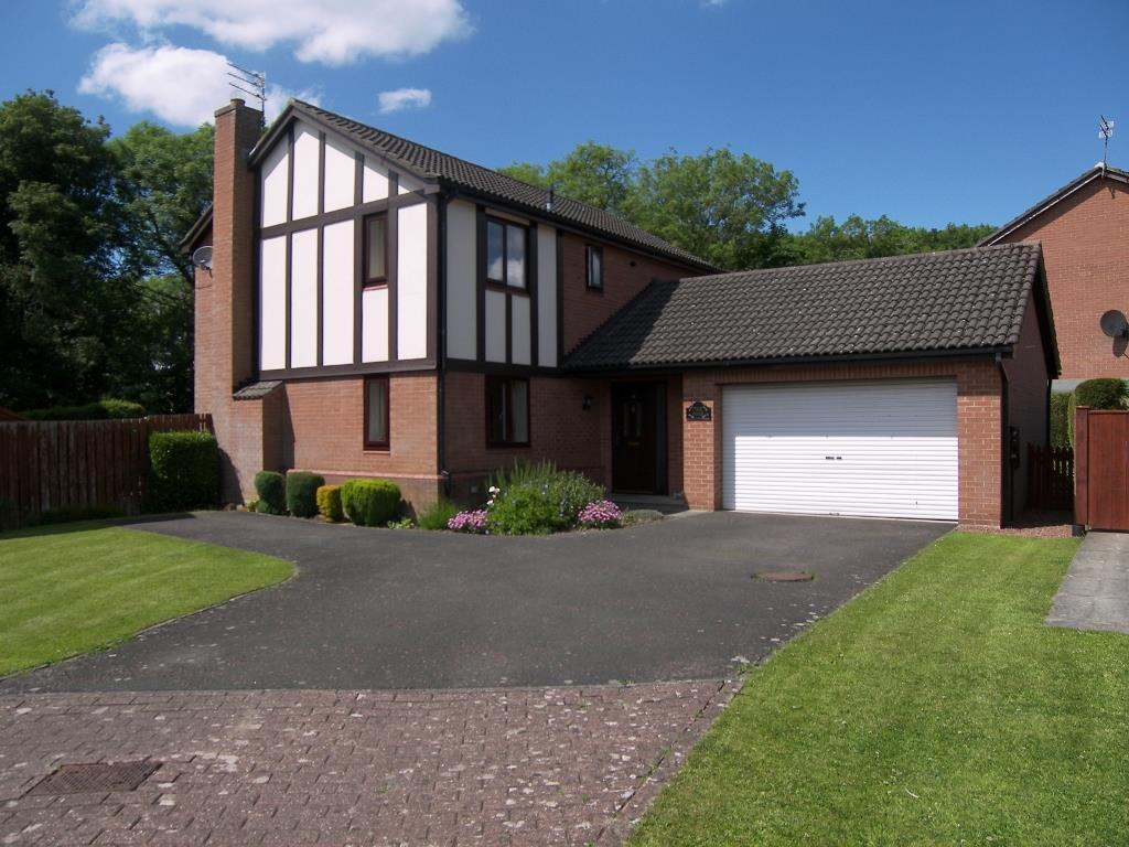 4 Bedrooms Detached House for sale in Ridley Close, Morpeth