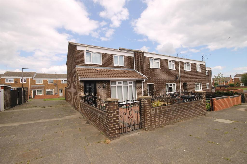 3 Bedrooms End Of Terrace House for sale in Ivy Grove, Hartlepool