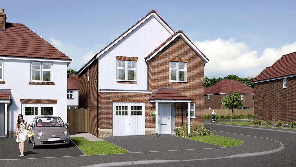 4 Bedrooms Detached House for sale in Manor Gardens, Ingleby Barwick, Stockton-On-Tees