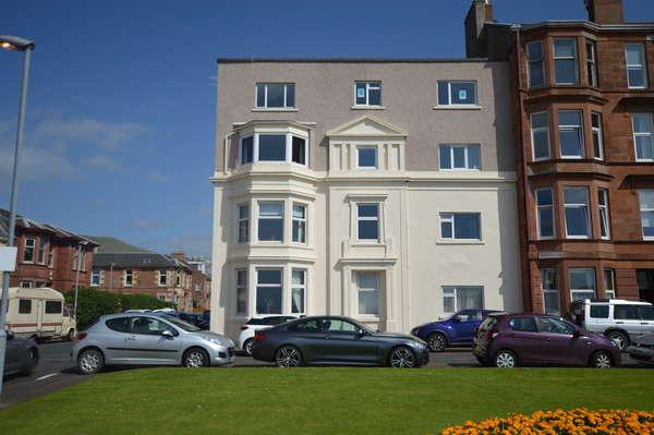 1 Bedroom Flat for sale in Flat 3A, St. John's Court Union Street, Largs, KA30 8DQ