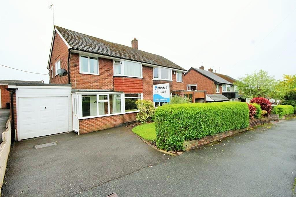 3 Bedrooms Semi Detached House for sale in Portland Drive, Forsbrook