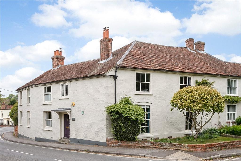 4 Bedrooms Semi Detached House for sale in Newbury Road, Kingsclere, Newbury, Hampshire, RG20