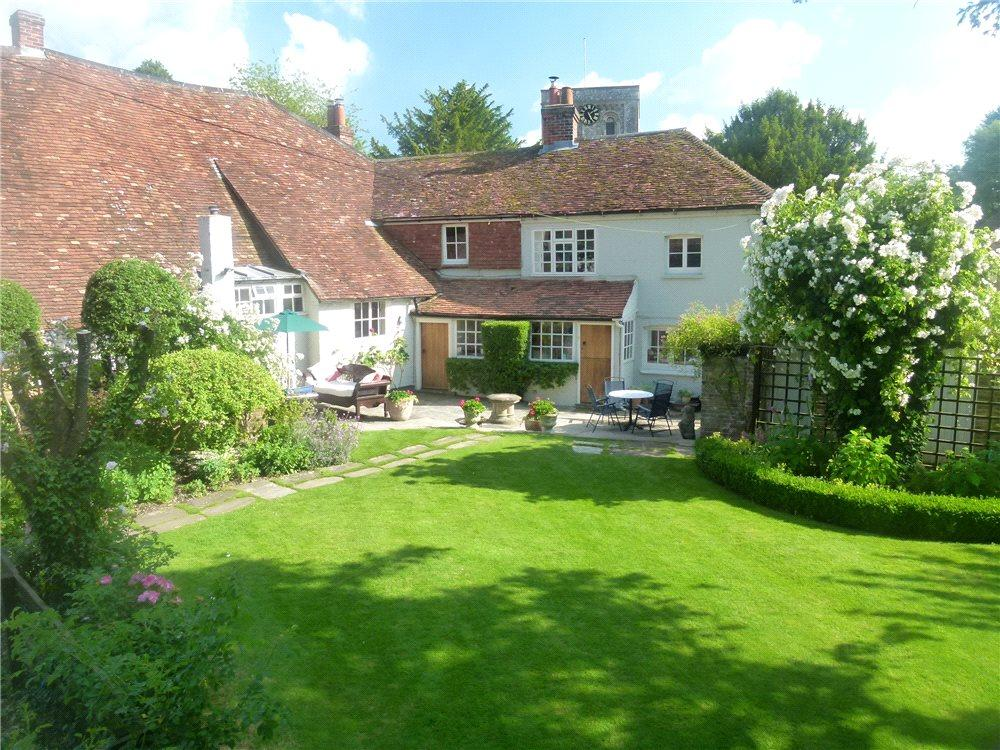 4 Bedrooms Semi Detached House for sale in Newbury Road, Kingsclere, Newbury, Hampshire, RG20