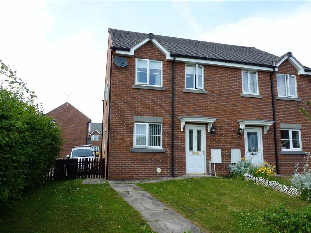 2 Bedrooms Semi Detached House for sale in Farndon Rise, Hereford