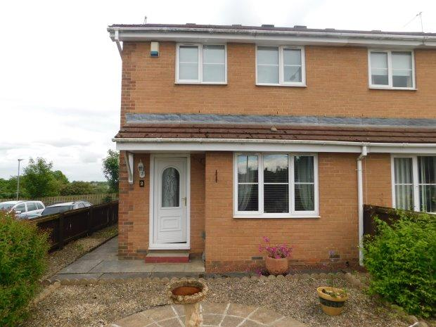 2 Bedrooms Semi Detached House for sale in DALE GROVE, SHILDON, BISHOP AUCKLAND