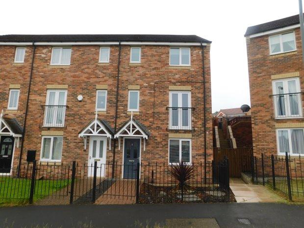 4 Bedrooms Terraced House for sale in DIXON WAY, COUNDON, BISHOP AUCKLAND