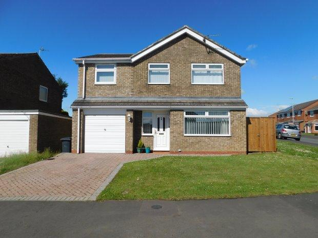 4 Bedrooms Detached House for sale in HORSLEY GROVE, BISHOP AUCKLAND, BISHOP AUCKLAND