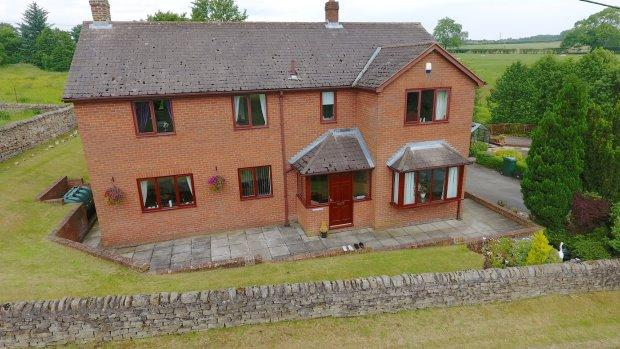 5 Bedrooms Detached House for sale in THE GARTH, SOUTHSIDE, BUTTERKNOWLE, BISHOP AUCKLAND