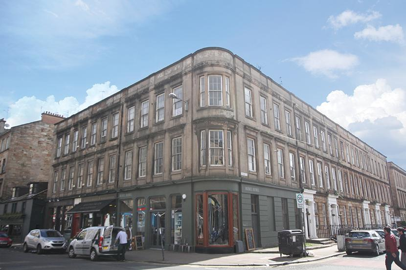 Studio Flat for sale in 1 Corunna Street, Finnieston, G3 8NE
