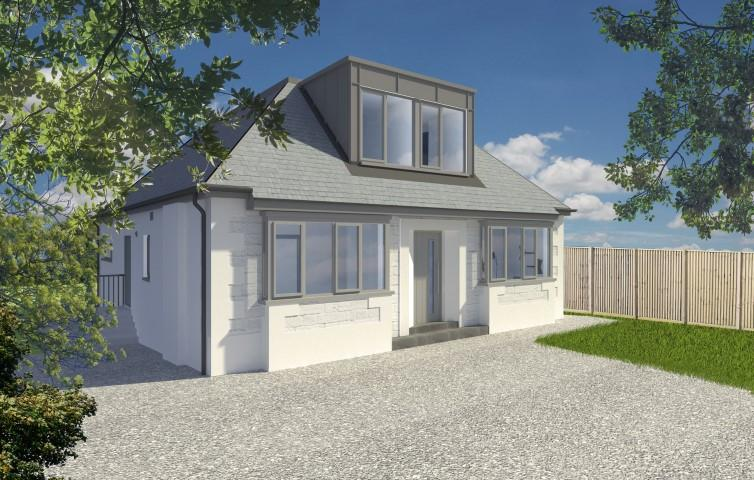 4 Bedrooms Detached House for sale in Development Opportunity - 47 Kessington Road, Bearsden, G61 2HJ