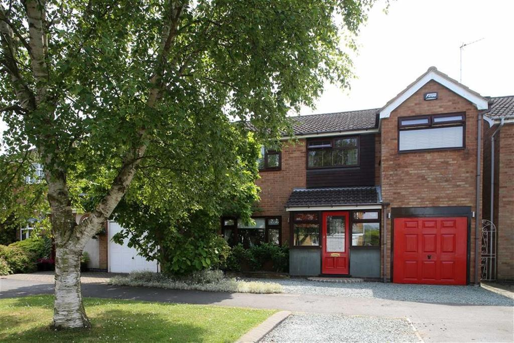 4 Bedrooms Detached House for sale in Woodlea Avenue, Lutterworth, Leicestershire