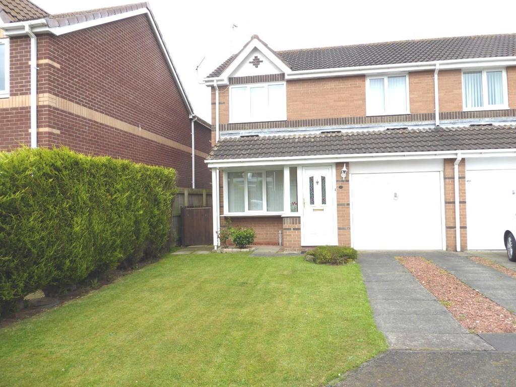 3 Bedrooms Semi Detached House for sale in Linton Burn Park, Widdrington, Morpeth