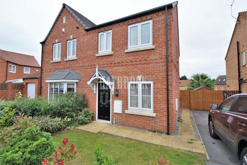 2 Bedrooms Semi Detached House for sale in Kingfisher Drive, Mexborough