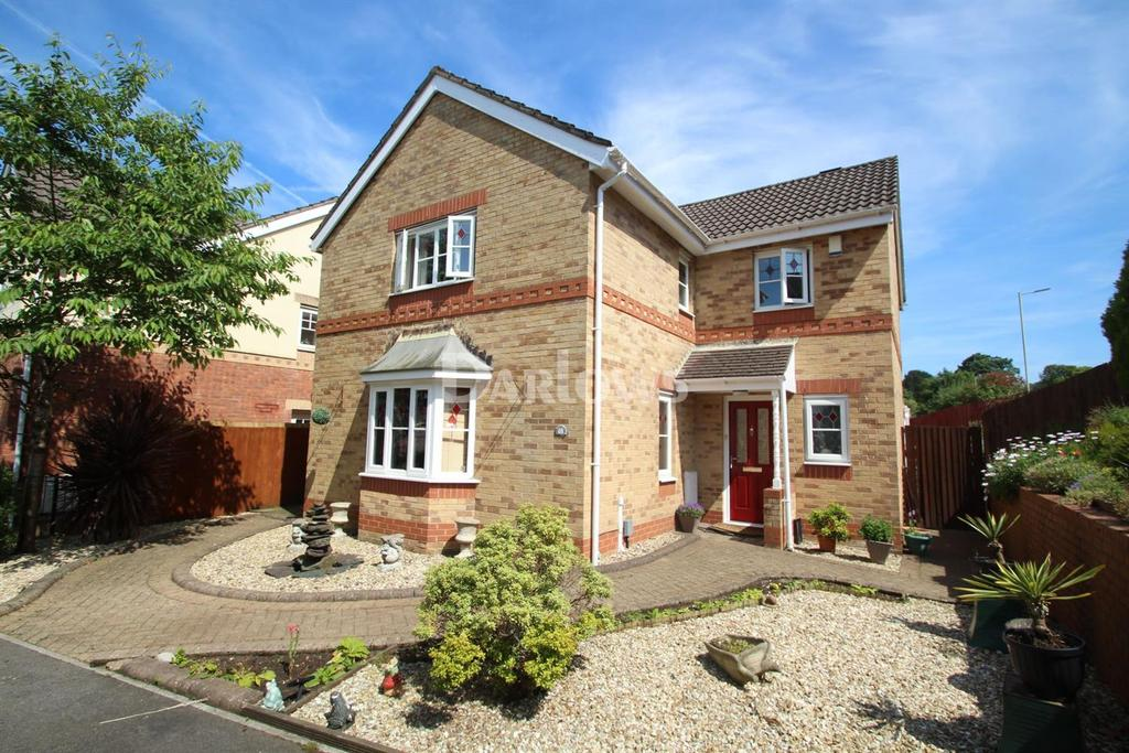 4 Bedrooms Detached House for sale in Golygfa'r Eglwys, Maesycoed