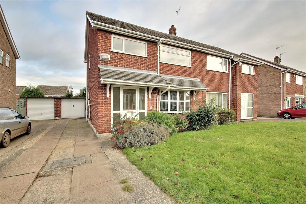 3 Bedrooms Semi Detached House for sale in Wetherby Drive, Mexborough