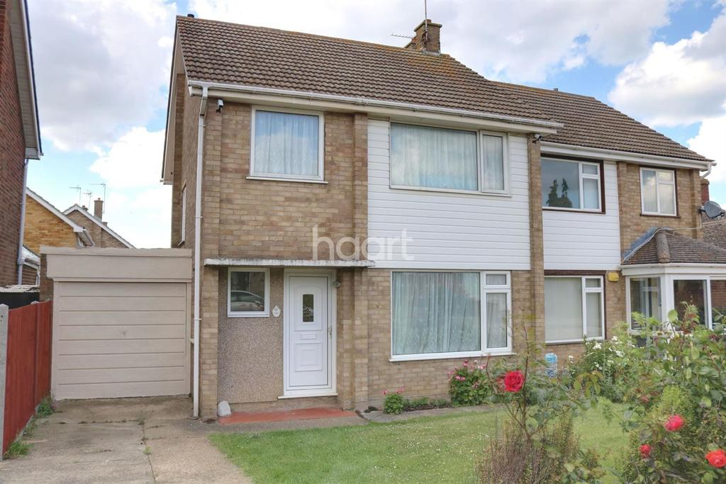 3 Bedrooms Semi Detached House for sale in Uplands Way Halfway