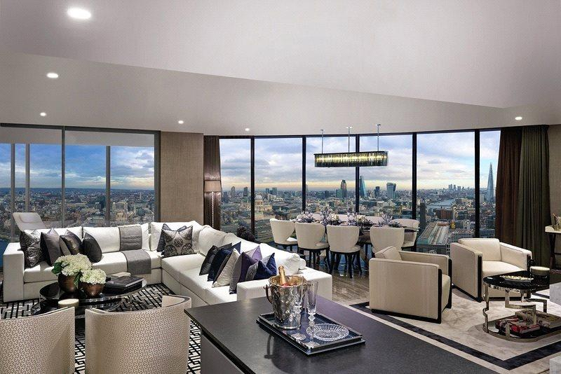 4 Bedrooms Flat for sale in One Blackfriars, London, SE1