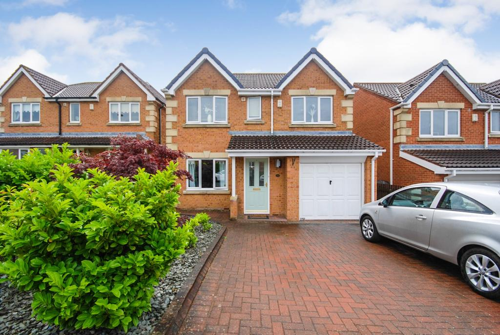 4 Bedrooms Detached House for sale in Okehampton Drive, Houghton-Le-Spring