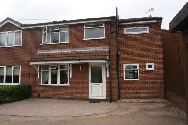 3 Bedrooms Semi Detached House for sale in Castle Rise, Groby, Leicester, LE6