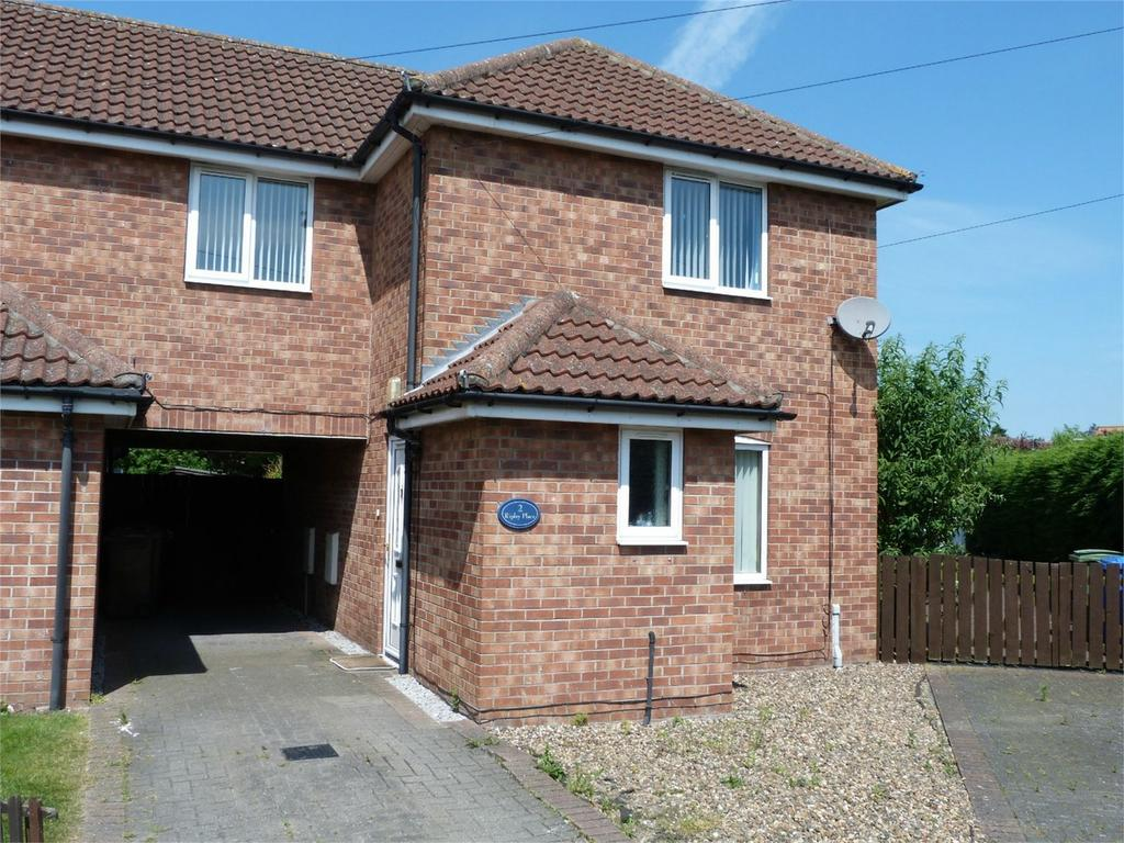 3 Bedrooms Semi Detached House for sale in Ripley Place, Market Weighton, York