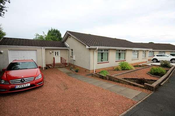 3 Bedrooms Semi Detached Bungalow for sale in 5 Bunting Place, Kilmarnock, KA1 3LE