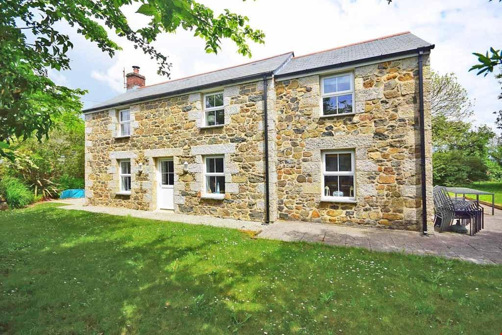3 Bedrooms Detached House for sale in Ponsongath, Coverack, Helston, Cornwall, TR12