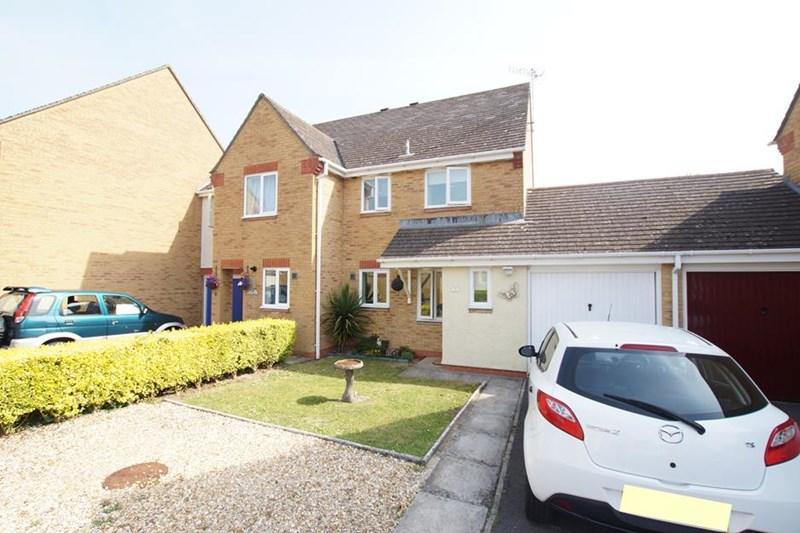 3 Bedrooms Semi Detached House for sale in Rosefields, Blandford St. Mary, Blandford Forum