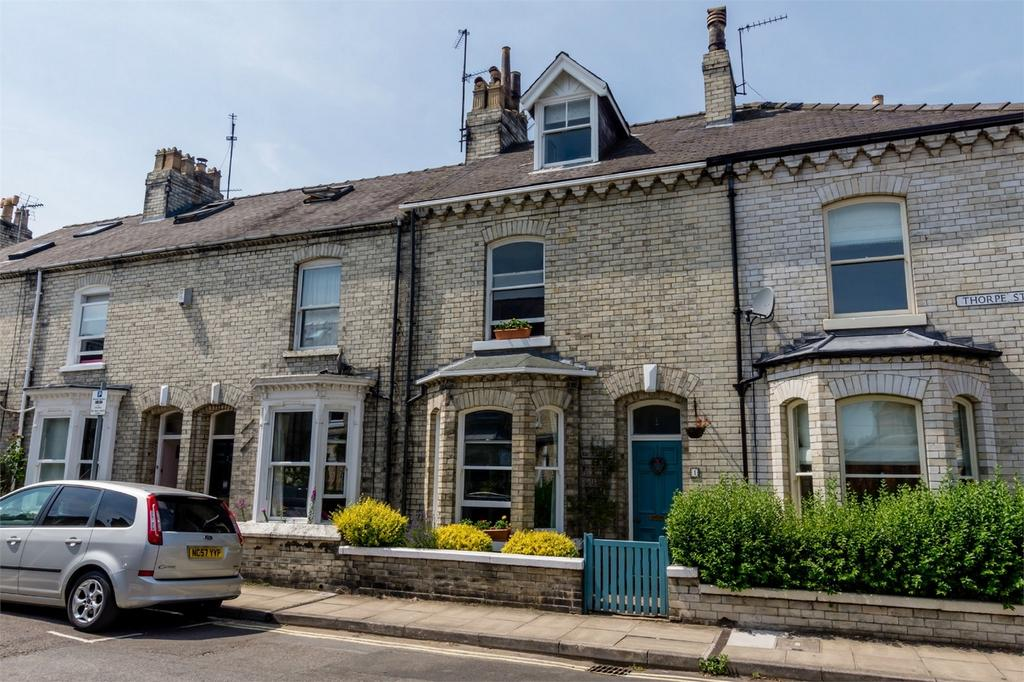 3 Bedrooms Terraced House for sale in Thorpe Street, Scarcroft Road, YORK