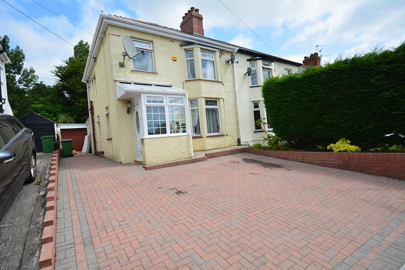 3 Bedrooms Semi Detached House for sale in Ty Mawr Road, Rumney, Cardiff. CF3