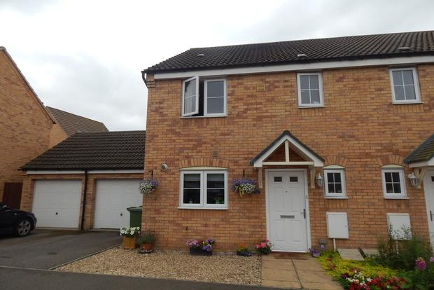 3 Bedrooms Semi Detached House for sale in Fairbairn Way, Chatteris, PE16