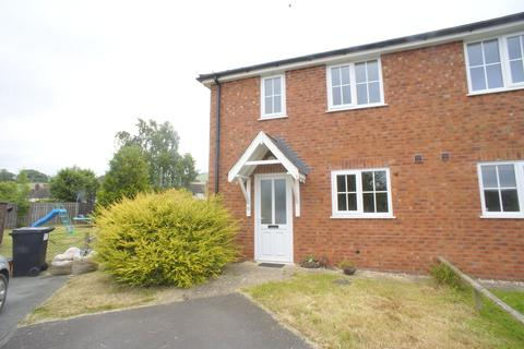 3 bedroom semi-detached house to rent - Plantation Close, Newtown, Powys