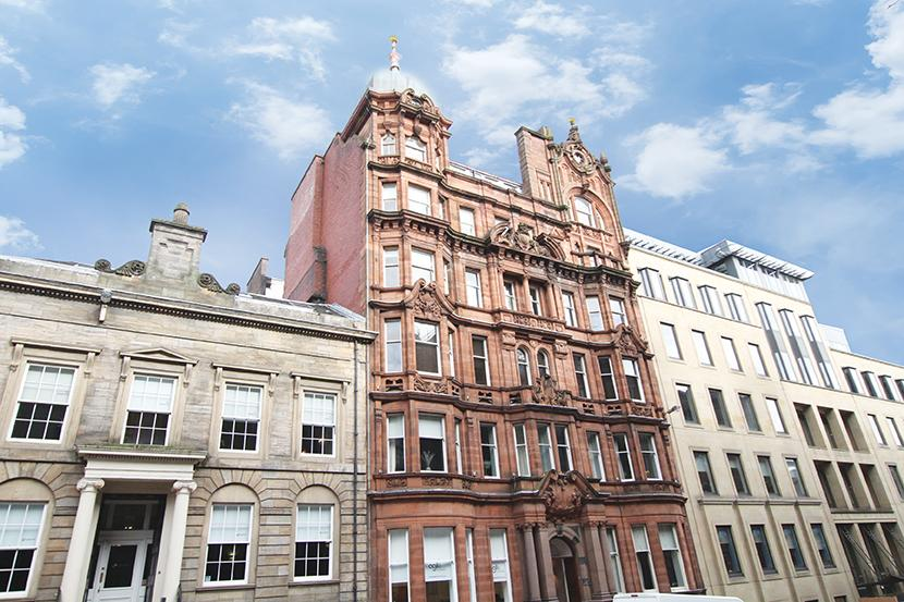 2 Bedrooms Flat for sale in 190 West George Street, City Centre, G2 2NR