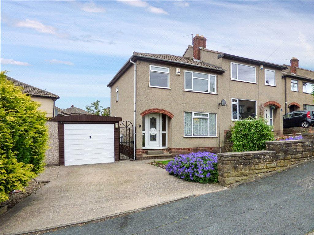 3 Bedrooms Semi Detached House for sale in Canberra Drive, Cross Roads, Keighley, West Yorkshire