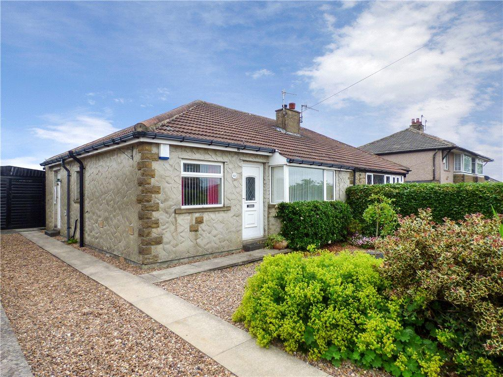 2 Bedrooms Semi Detached Bungalow for sale in Spring Avenue, Keighley, West Yorkshire