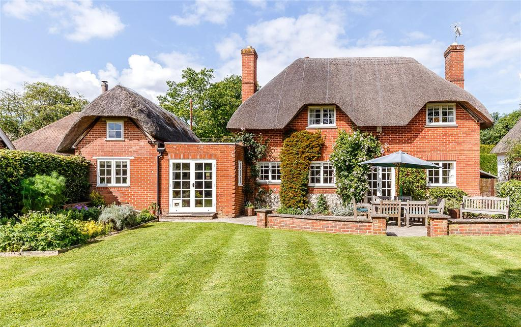 4 Bedrooms Detached House for sale in Horseshoe Lane, Ibthorpe, Andover, Hampshire
