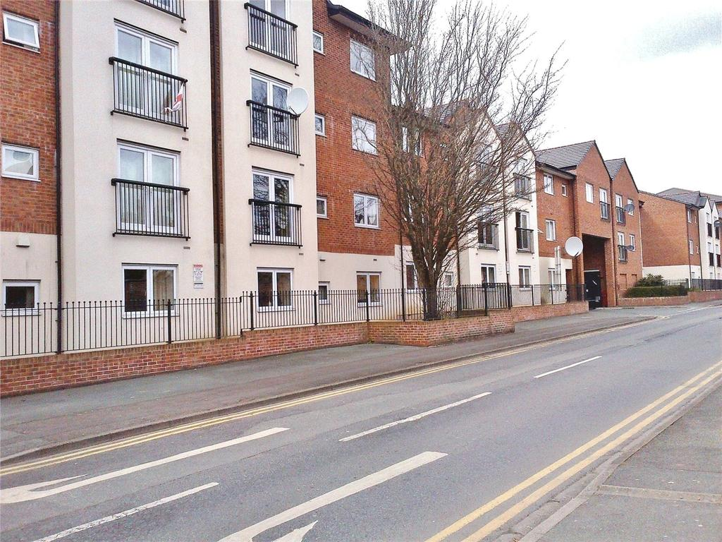 2 Bedrooms Apartment Flat for sale in Delamere Court, St Mary's Way, Crewe, Cheshire, CW1