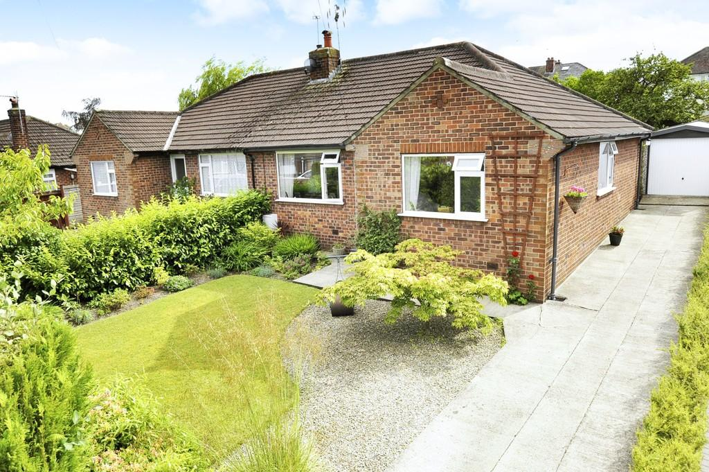 3 Bedrooms Semi Detached Bungalow for sale in Olive Grove, Harrogate