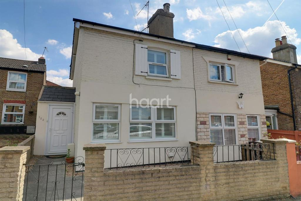 2 Bedrooms Semi Detached House for sale in Tottenhall Road, Palmers Green, N13