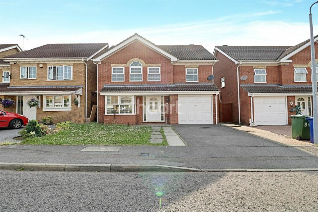 4 Bedrooms Detached House for sale in Advice Avenue, Chafford Hundred, Grays