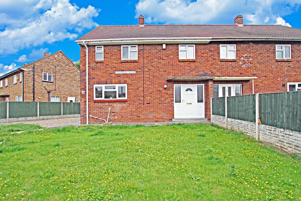 3 Bedrooms Semi Detached House for sale in Grasmere Road, Carcroft, Doncaster