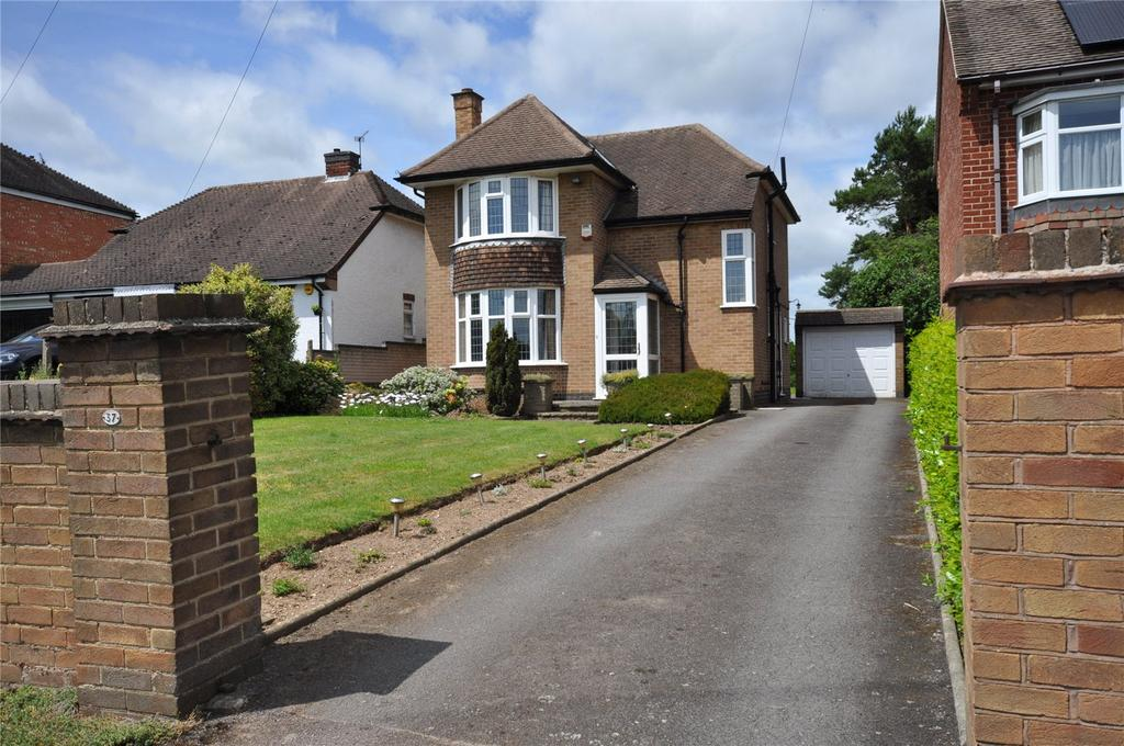 3 Bedrooms Detached House for sale in Shepshed Road, Hathern, Loughborough