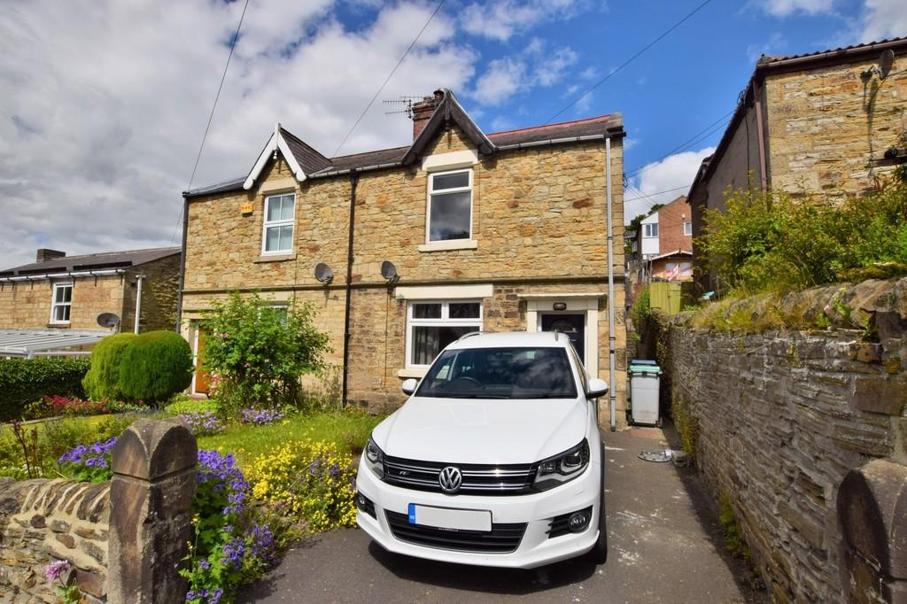 2 Bedrooms Semi Detached House for sale in Cutlers Hall Road, Shotley Bridge, Consett