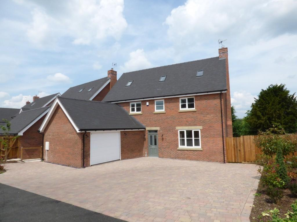 4 Bedrooms Detached House for sale in Green Farm Meadows, Seighford